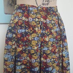Lularoe Multi-colored Madison Skirt